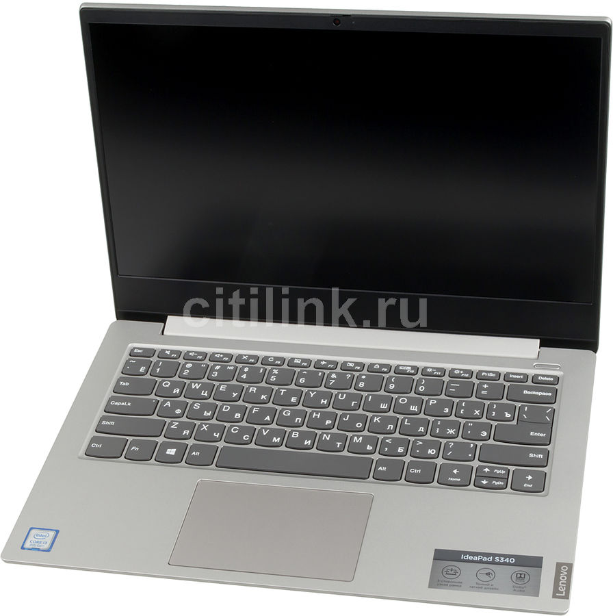 "Ультрабук LENOVO IdeaPad S340-14IWL, 14"",  IPS, Intel  Core i3  8145U 2.1ГГц, 8Гб, 128Гб SSD,  Intel UHD Graphics  620, Free DOS, 81N700PQRK,  серый"