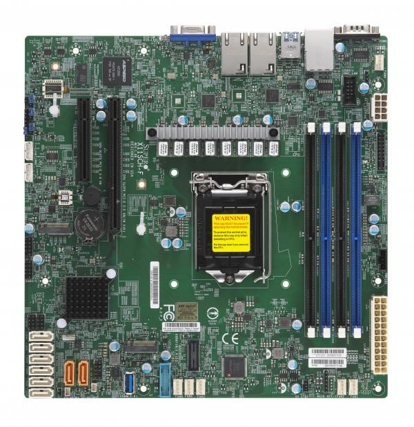 Серверная материнская плата SUPERMICRO MBD-X11SCH-F-O,  Ret