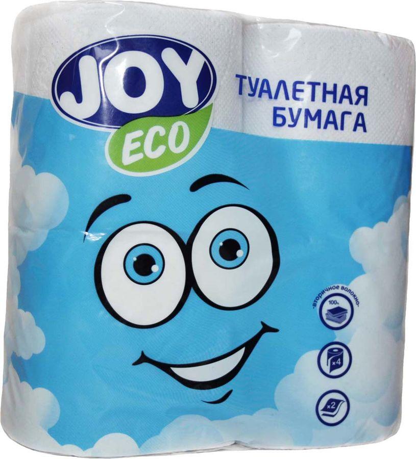 Купить Бумага туалетная JOY eco, 2-х слойная, 4шт в интернет-магазине СИТИЛИНК, цена на Бумага туалетная JOY eco, 2-х слойная, 4шт (1154506) - Нижний Новгород