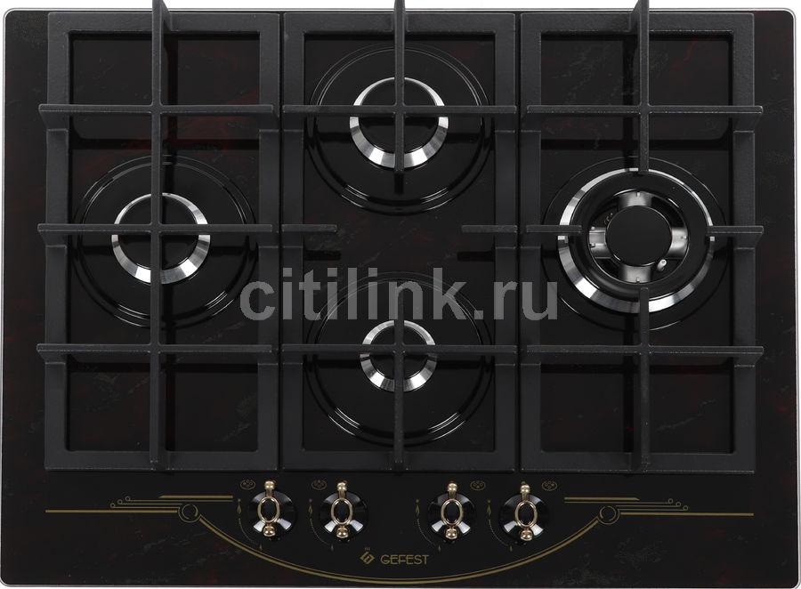 Варочная панель GEFEST ПВГ 2231-01 Р55,  независимая,  рубиновый