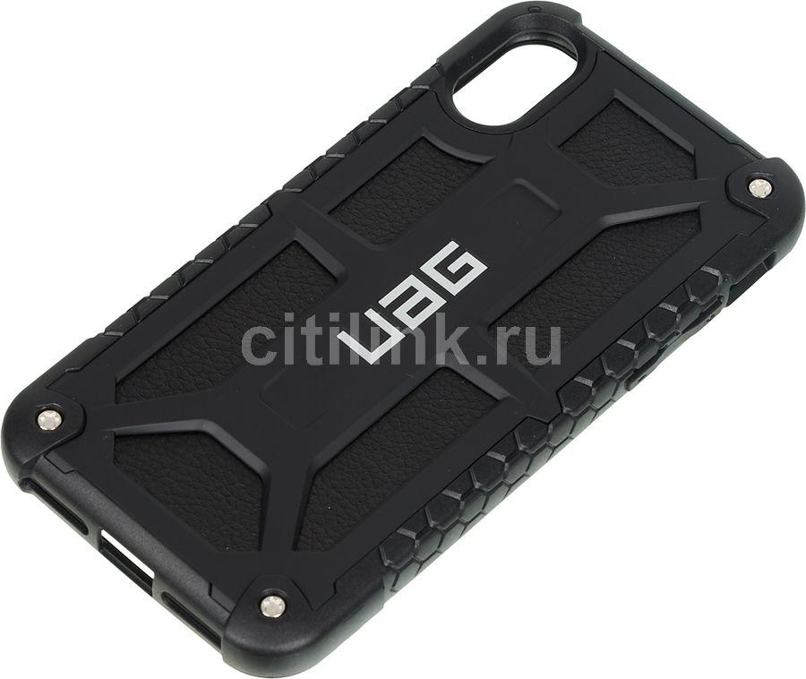 Чехол (клип-кейс) UAG Monarch, для Apple iPhone X/XS, черный [iphx-m-blk]