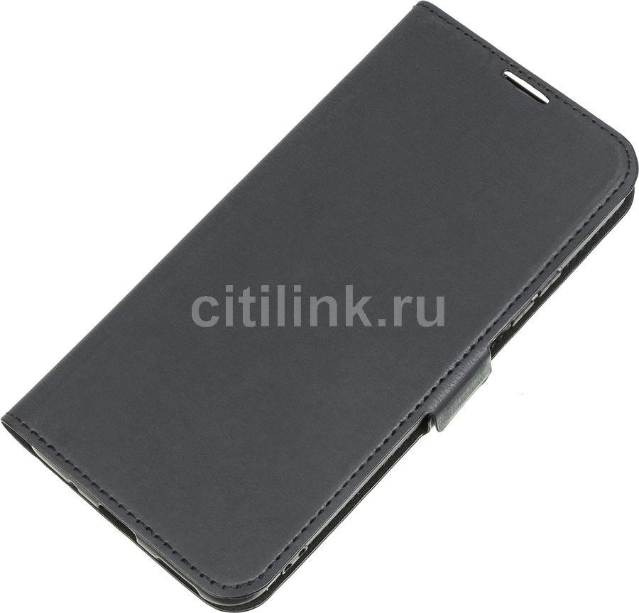 Чехол (флип-кейс) DF hwFlip-72, для Huawei Honor 20/Nova 5T, черный [df hwflip-72 (black)]