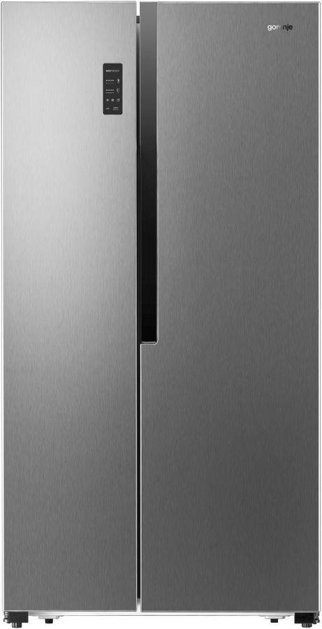 Холодильник GORENJE NRS9181MX,  двухкамерный, нержавеющая сталь