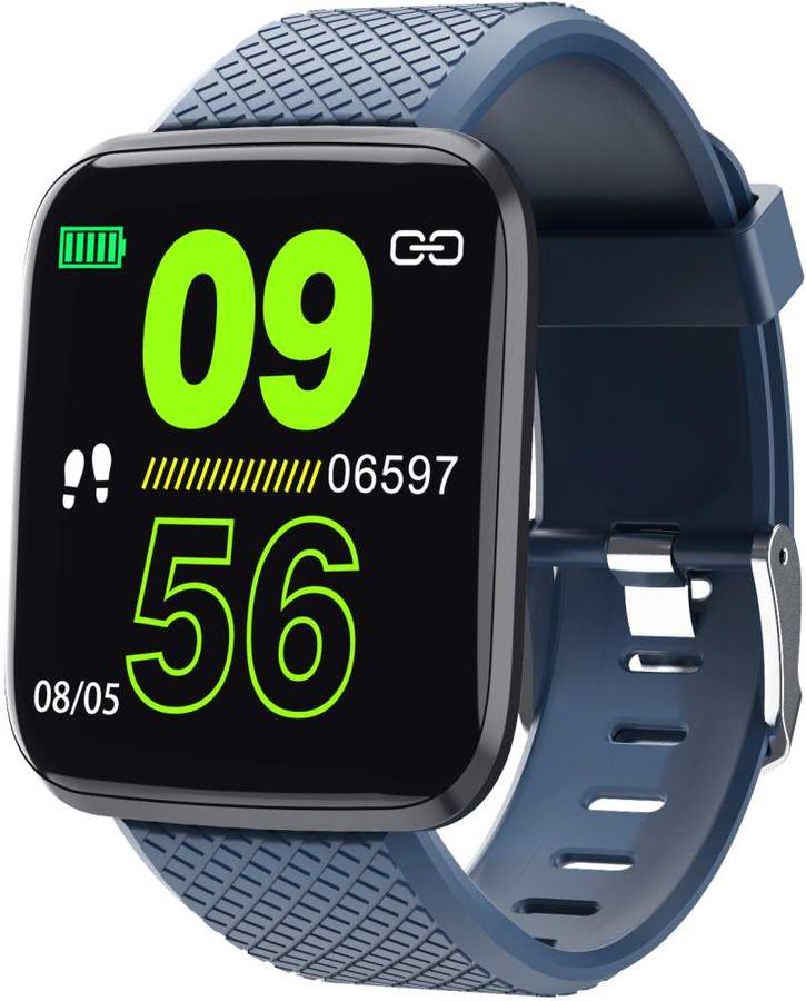 "Смарт-часы SMARTERRA FitMaster Aura,  1.3"",  синий / синий [fmaubl]"
