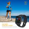 """Смарт-часы DIGMA Smartline D2e,  1.3"""",  черный / черный вид 2"""