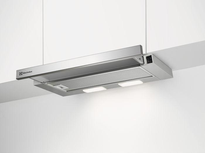 Вытяжка встраиваемая Electrolux LFP216S серебристый управление: кулисные переключатели (1 мотор)