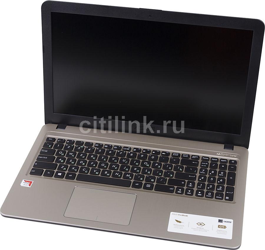 Ноутбук ASUS VivoBook A540BA-DM492, 90NB0IY1-M06580,  черный, отзывы владельцев в интернет-магазине СИТИЛИНК (1155806) - Москва