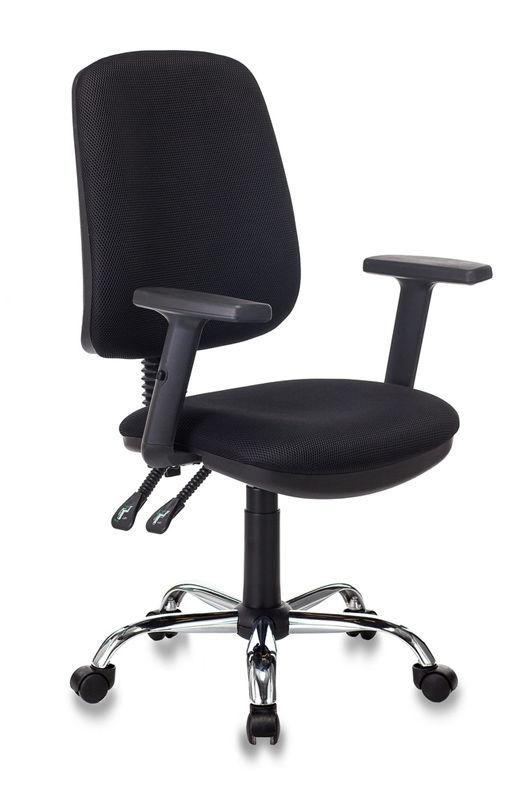 Кресло БЮРОКРАТ T-620SL, на колесиках, ткань, черный [t-620sl/black]