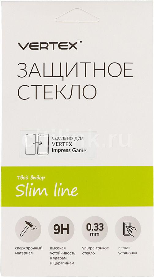 Защитное стекло для экрана VERTEX для Vertex Impress/Game,  1 шт, прозрачный [sltgm]