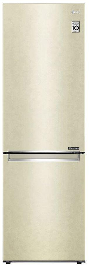 Холодильник LG GA-B459SECL,  двухкамерный, бежевый