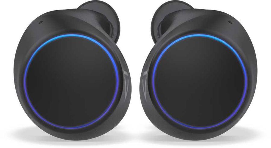 Наушники с микрофоном CREATIVE Outlier Air, Bluetooth, вкладыши, черный/серый [51ef0830aa000/51ef0830aa002]