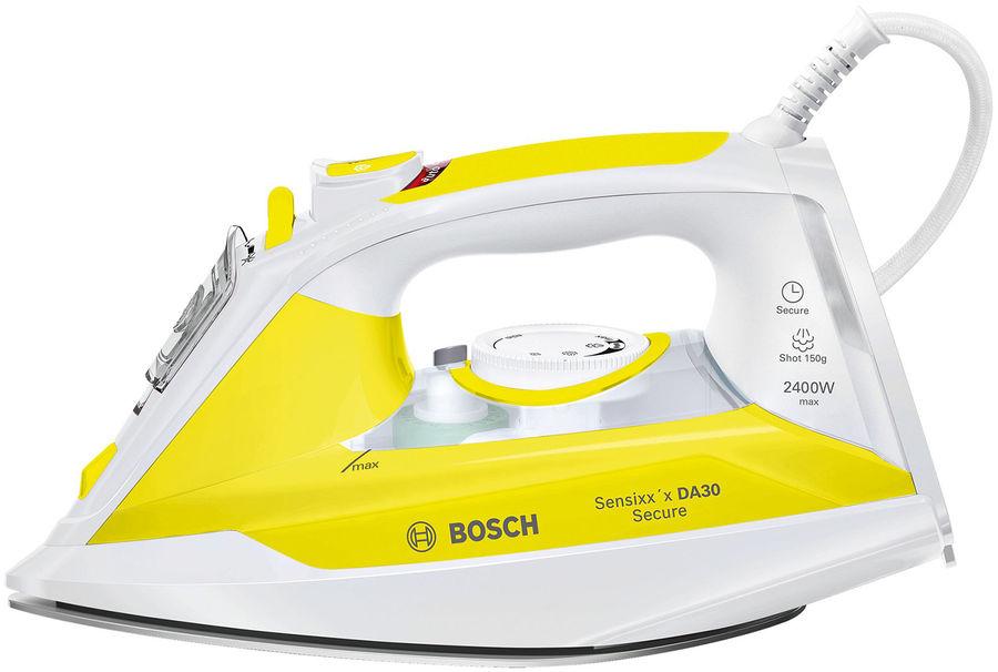 Утюг BOSCH TDA3024140,  2400Вт,  белый