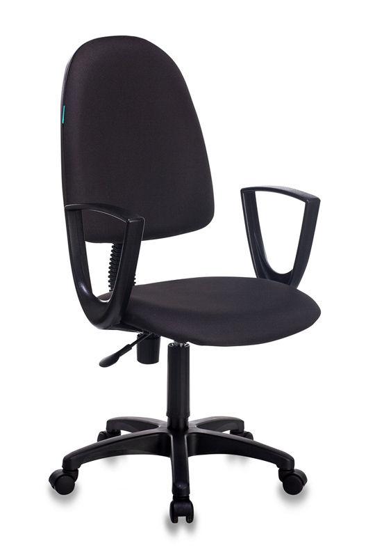 Кресло БЮРОКРАТ CH-1300N, на колесиках, ткань, черный [ch-1300n/black]