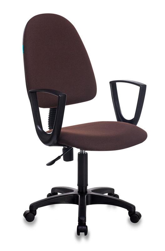Кресло БЮРОКРАТ CH-1300N, на колесиках, ткань, коричневый [ch-1300n/brown]