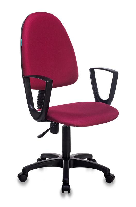 Кресло БЮРОКРАТ CH-1300N, на колесиках, ткань, бордовый [ch-1300n/cherry]