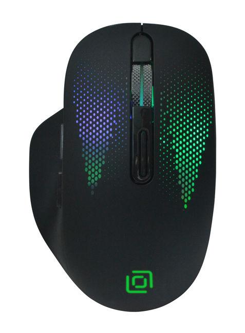 Мышь OKLICK 636LWC, оптическая, беспроводная, USB, черный