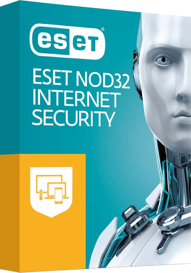 ПО Eset NOD32 Internet Security Platinum Edition 3 устройства 2 годa Box (NOD32-EIS-NS(BOX)-2-3)