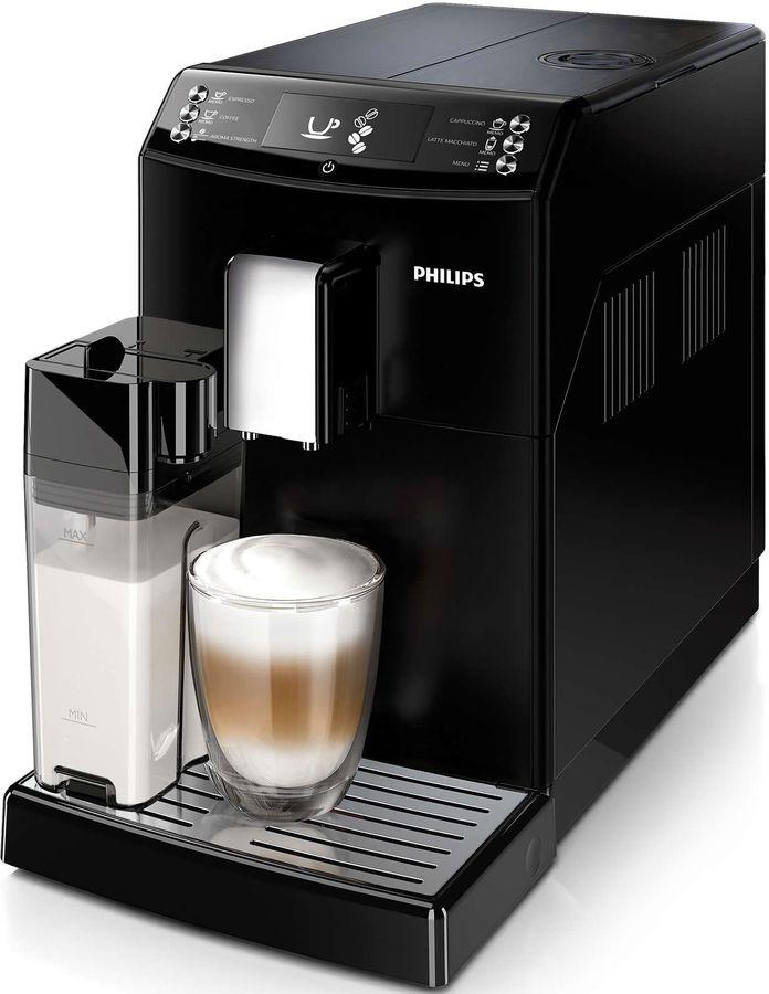 Кофемашина PHILIPS EP3559/00,  черный/серебристый