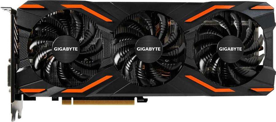 Видеокарта GIGABYTE nVidia  GeForce GTX 1060 ,  GV-N1060WF3OC-6GD,  6Гб, GDDR5X, OC,  Ret