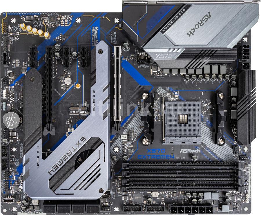 Материнская плата ASROCK X570 EXTREME4, SocketAM4, AMD X570, ATX, Ret
