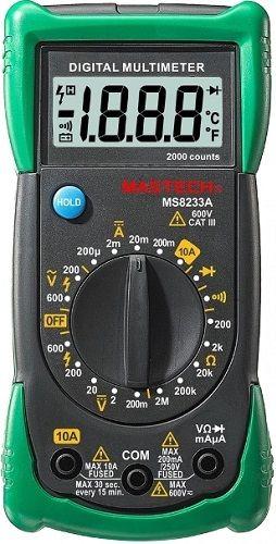 Мультиметр MASTECH MS8233A [13-2014]