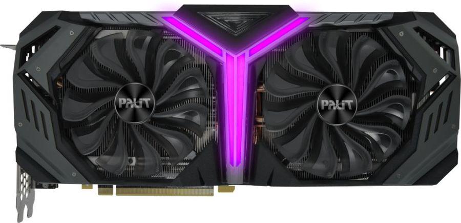 Видеокарта PALIT nVidia  GeForce RTX 2070SUPER ,  PA-RTX2070SUPER GRP 8G,  8Гб, GDDR6, Ret [ne6207sh20p2-1040g]