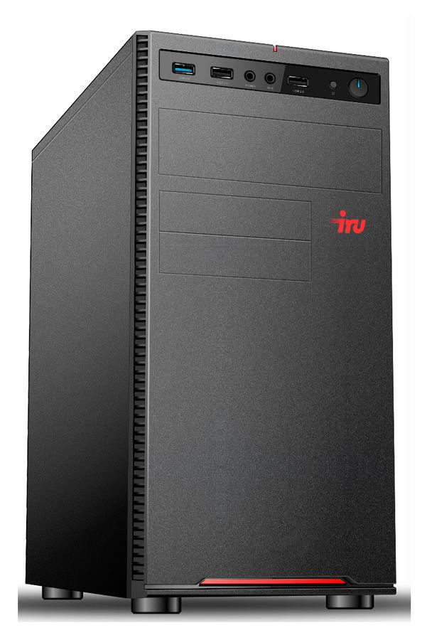 Компьютер  IRU Office 312,  Intel  Pentium Gold  G5400,  DDR4 4Гб, 500Гб,  Intel UHD Graphics 610,  Free DOS,  черный [1159295]
