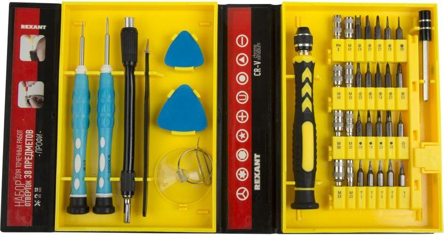 Набор отверточный REXANT 12-4761,  38 предметов