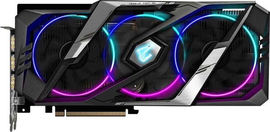 Видеокарта GIGABYTE nVidia  GeForce RTX 2060SUPER ,  GV-N206SAORUS-8GC,  8Гб, GDDR6, Ret