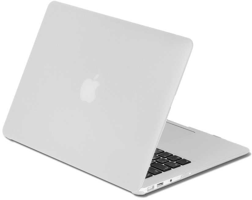 "Накладка 13.0"" DF MacCase-03, серебристый,  для MacBook Pro 13"" Touch bar (A1706/A1708/A1989) [df maccase-03 (silver)]"