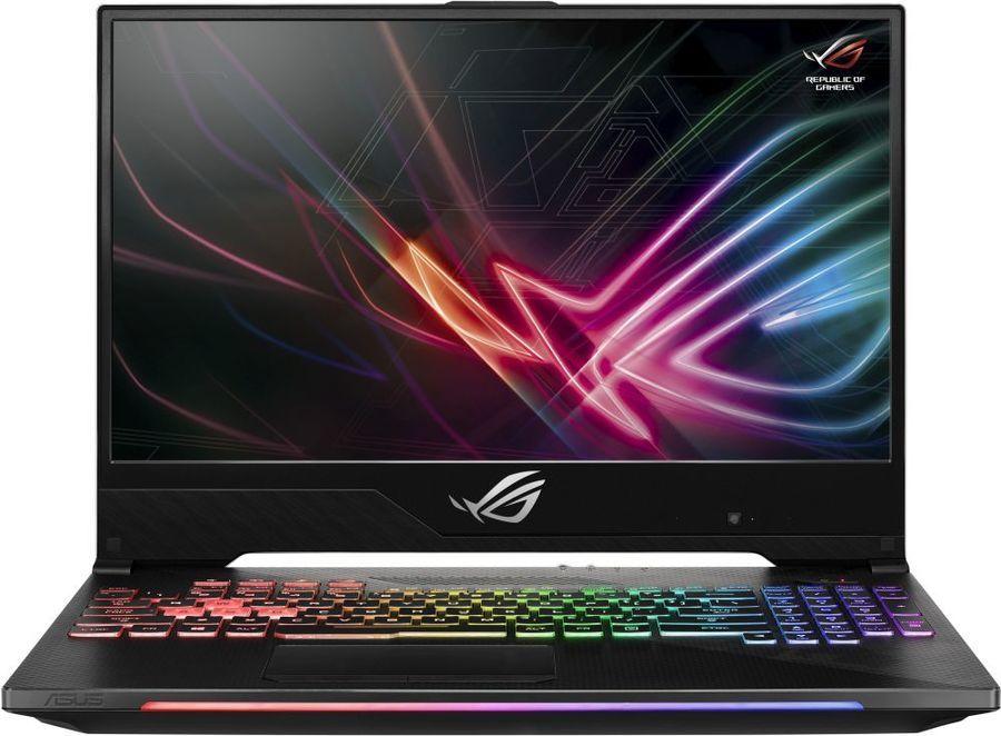 """Ноутбук ASUS ROG GL504GV-ES143T, 15.6"""",  IPS, Intel  Core i5  8300H 2.3ГГц, 16Гб, 1000Гб,  256Гб SSD,  nVidia GeForce  RTX 2060 - 6144 Мб, Windows 10, 90NR01X1-M02750,  черный"""