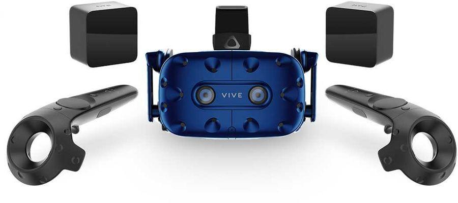 Очки виртуальной реальности HTC VIVE Pro starter kit EEA, синий
