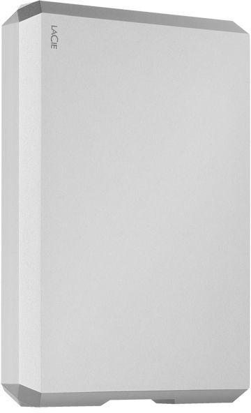 Внешний жесткий диск LACIE Mobile Drive STHG5000400, 5Тб, серебристый