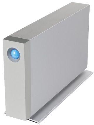 Внешний жесткий диск LACIE d2 STFY6000400, 6Тб, серебристый