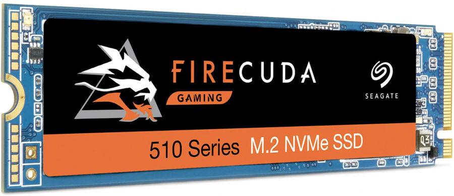 SSD накопитель SEAGATE FireCuda 510 ZP1000GM30011 1Тб, M.2 2280, PCI-E x4,  NVMe
