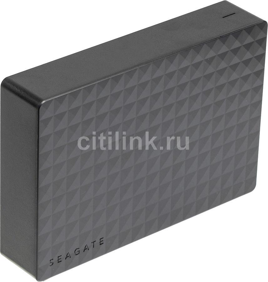 Внешний жесткий диск SEAGATE Expansion STEB6000403, 6Тб, черный