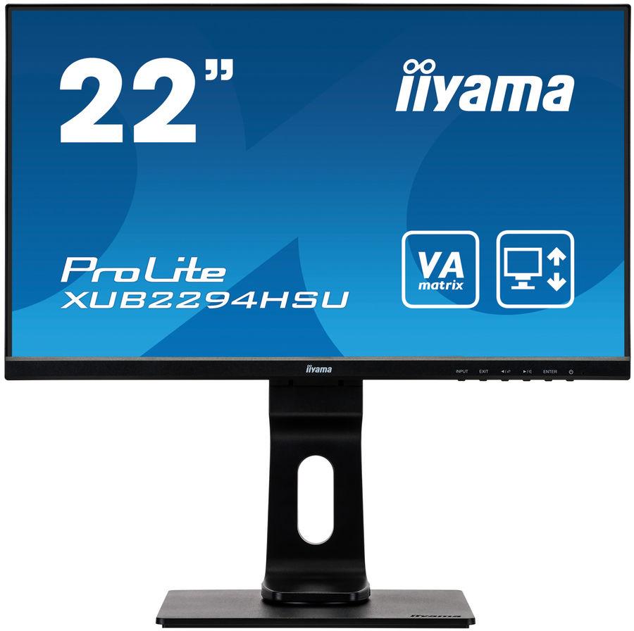 """Монитор IIYAMA ProLite XUB2294HSU-B1 21.5"""", черный"""
