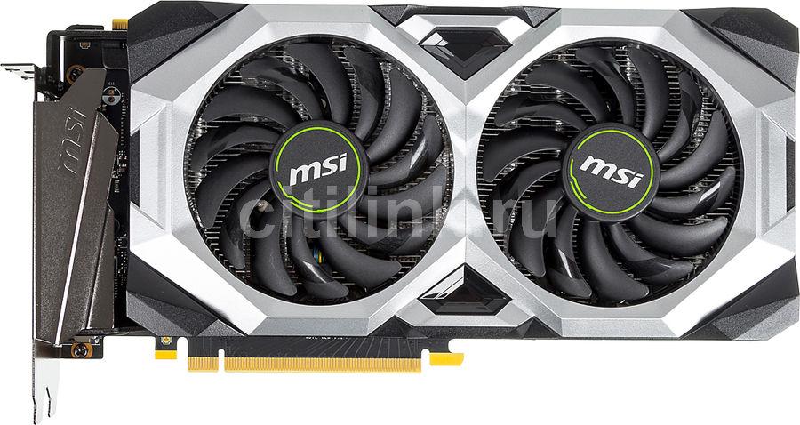 Видеокарта MSI nVidia  GeForce RTX 2070SUPER ,  RTX 2070 SUPER VENTUS OC,  8Гб, GDDR6, OC,  Ret