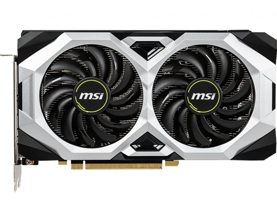 Видеокарта MSI nVidia  GeForce RTX 2060SUPER ,  RTX 2060 SUPER VENTUS OC,  8Гб, GDDR6, OC,  Ret