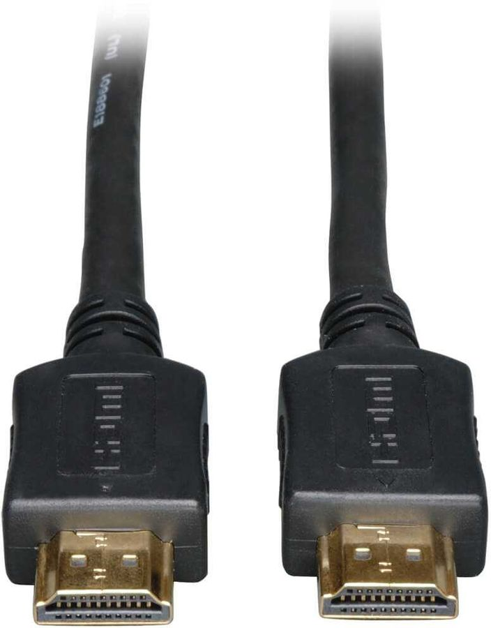 Кабель аудио-видео TRIPPLITE HDMI (m)  -  HDMI (m) ,  ver 1.3, 0.9м, GOLD черный,  блистер [p568-003]