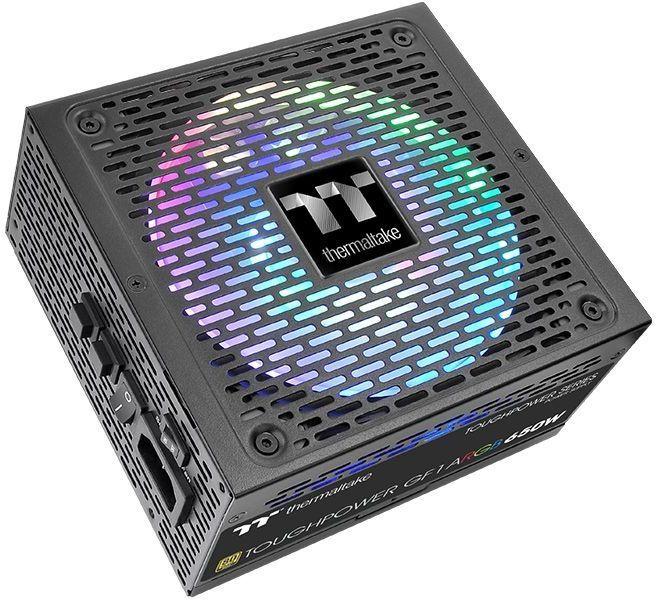 Блок питания THERMALTAKE Toughpower GF1 ARGB,  750Вт,  140мм,  черный, retail [ps-tpd-0750f3fage-1]