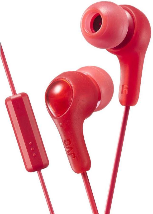 Наушники с микрофоном JVC HA-FX7M, 3.5 мм, вкладыши, красный [ha-fx7m-r-e]
