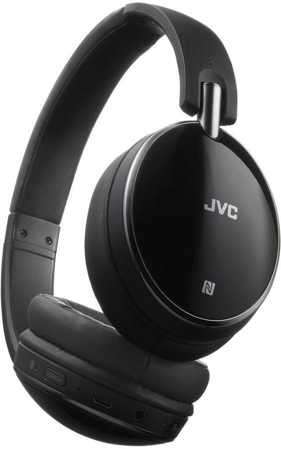 Наушники JVC HA-S90BN, 3.5 мм/Bluetooth, накладные, черный [ha-s90bn-b-e]