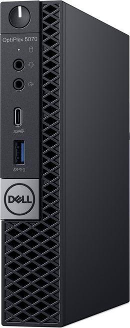 Компьютер  DELL Optiplex 5070,  Intel  Core i5  9500T,  DDR4 8Гб, 256Гб(SSD),  Intel UHD Graphics 630,  Windows 10 Professional,  черный [5070-4838]