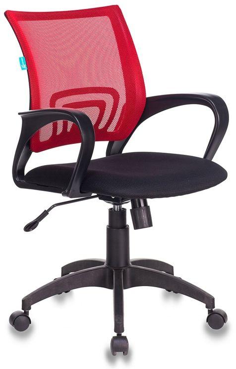 Кресло БЮРОКРАТ CH-695N, на колесиках, ткань, черный [ch-695n/r/tw-11]