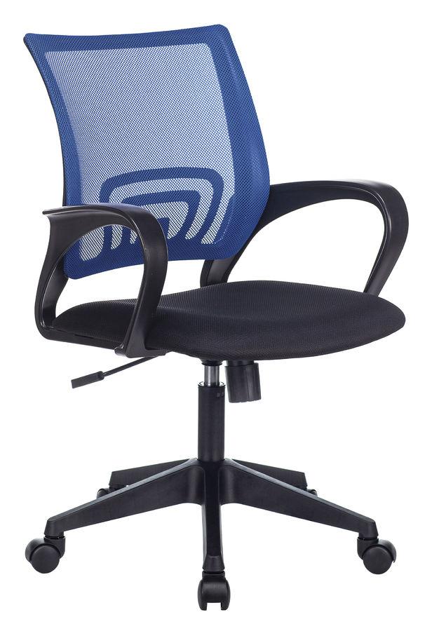 Кресло БЮРОКРАТ CH-695N, на колесиках, ткань, черный [ch-695n/bl/tw-11]