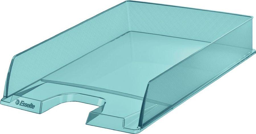 Лоток горизонтальный Esselte 626274 Colour`Ice 254x61x350мм синий полистирол