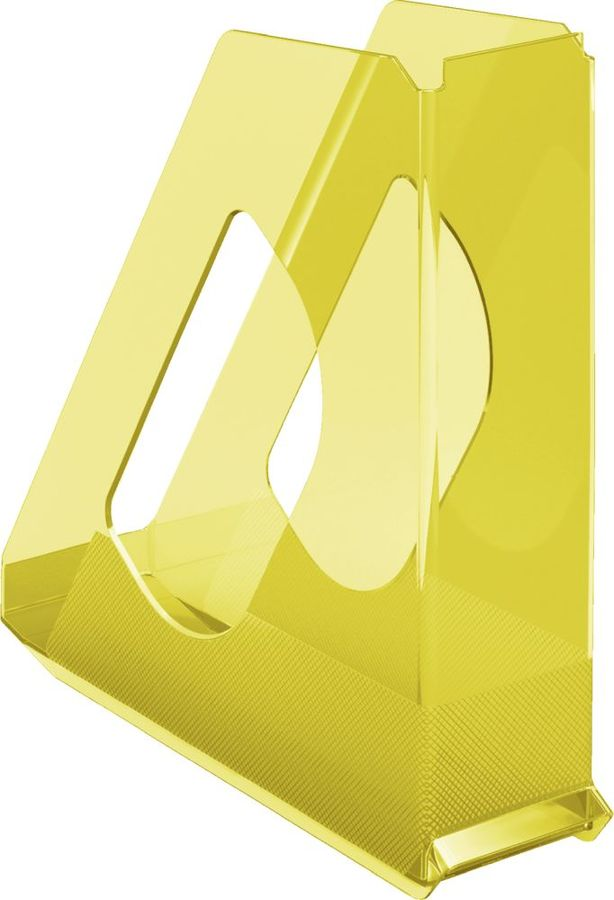 Лоток вертикальный Esselte 626277 Colour`Ice 72x256x260мм желтый полистирол