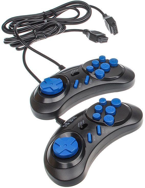 Джойстик MAGISTR 21-JS,  узкий разъем 9 pin, для Sega, черный