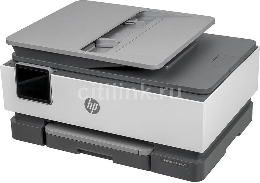 МФУ струйный HP OfficeJet 8023, A4, цветной, струйный, черный [1kr64b]